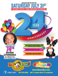Mona's 24th Anniversary Celebration